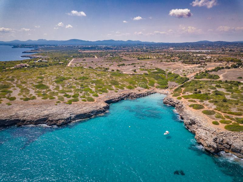 Tirs Majorque de bourdon baléare photo libre de droits