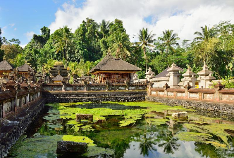 Tirta Empul temple in Bali royalty free stock images