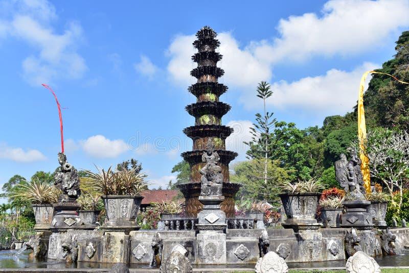 Tirta Gangga, Bali fotografia stock