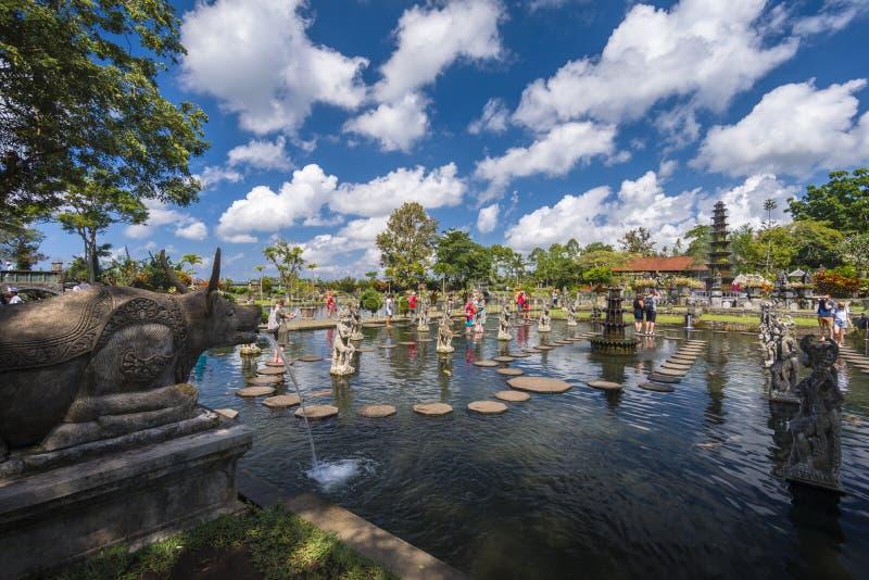Tirta Gangga, Bali arkivfoto