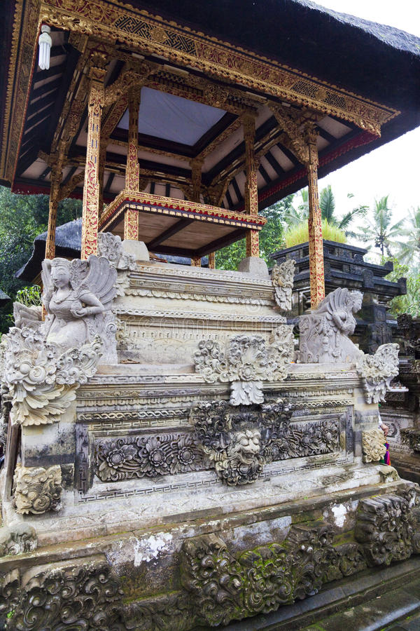 Tirtha Empul, Ubud, Bali, Indonesia fotos de archivo