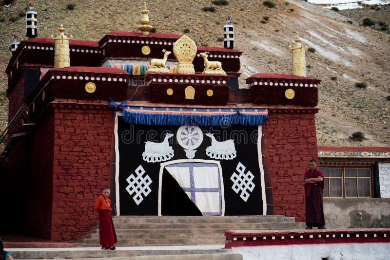 Tirthapuri Monastery Himalayas mountain Tibet. Kailas Yatra Tirthapuri Monastery Himalayas mountain Tibet royalty free stock photos