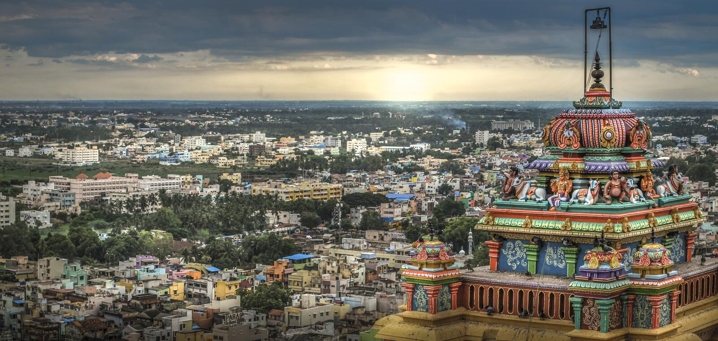 Tiruchirapalli Rock Fort royalty free stock images