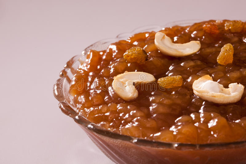 Tirunelveli Halwa from India. Tirunelveli Halwa- traditional godhumai halwa famous South indian Sweet stock photos