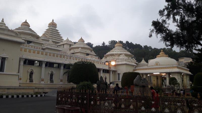 Tirupathi, Andhra Pradesh/Índia - 12 de fevereiro de 2019: S V Museu do venkateswara do sri do senhor na noite no tirumala, Andhr foto de stock royalty free