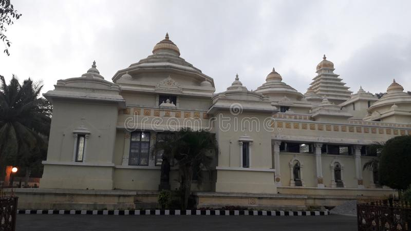 Tirupathi, Andhra Pradesh/Inde - 12 février 2019 : S V Musée de venkateswara de sri de seigneur le soir dans le tirumala, Andhra photo libre de droits