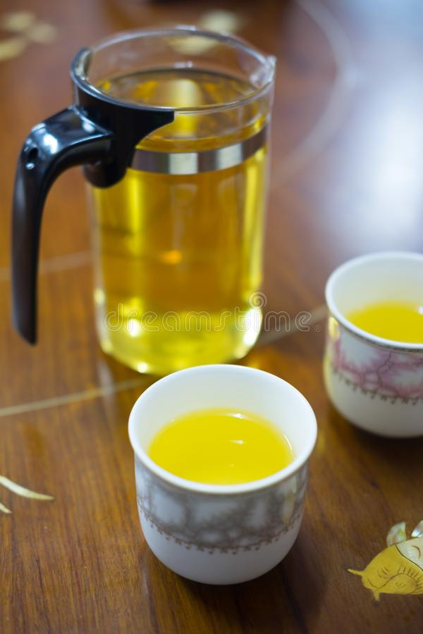 Tisane aromatique de chinois traditionnel photos libres de droits