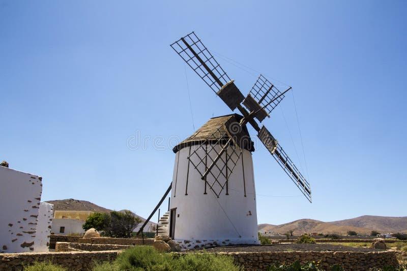 Tiscamanita windmill royalty free stock images