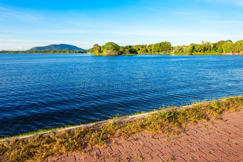 Tissamaharama湖,斯里兰卡 图库摄影