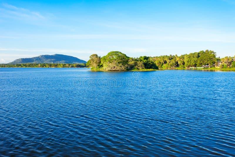 Tissamaharama湖,斯里兰卡 免版税库存照片