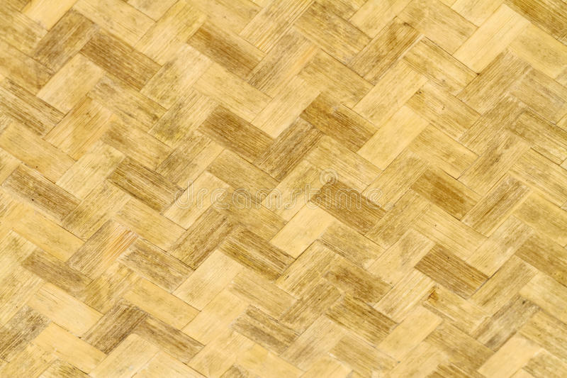 Tissez le modèle du fond en bambou traité dans le style de vintage photographie stock libre de droits