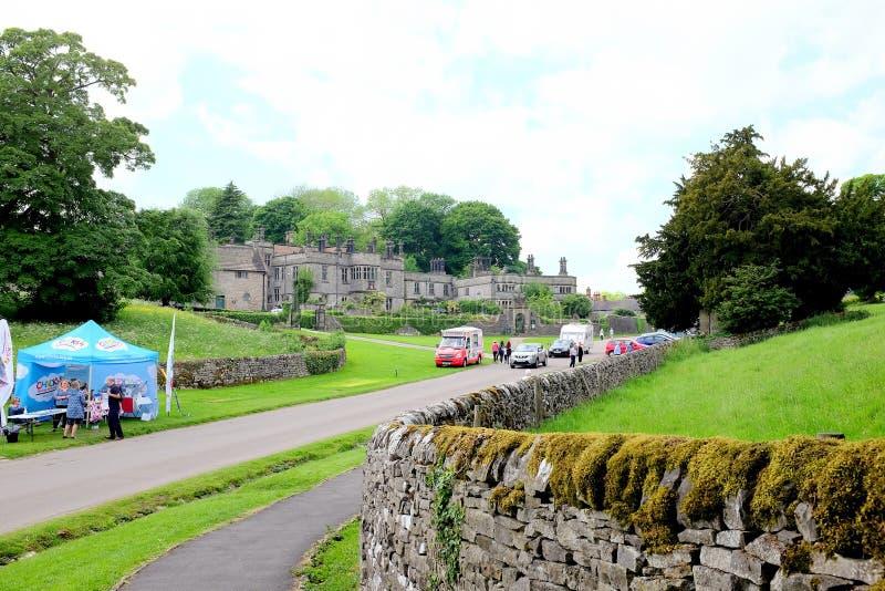 Tissington Hall, Derbyshire zdjęcia royalty free