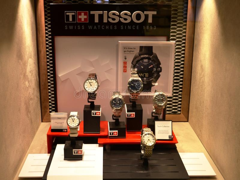 Download Tissot image stock éditorial. Image du marqu, ramassage - 87703694