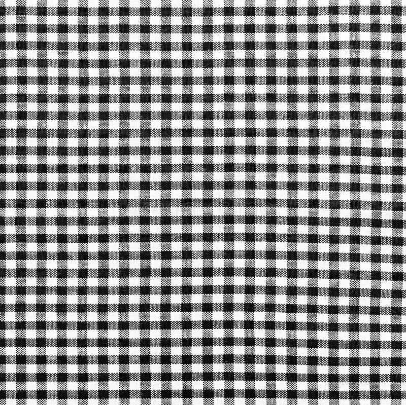 tissu carreaux noir et blanc image stock image du v tement tissu 35718807. Black Bedroom Furniture Sets. Home Design Ideas