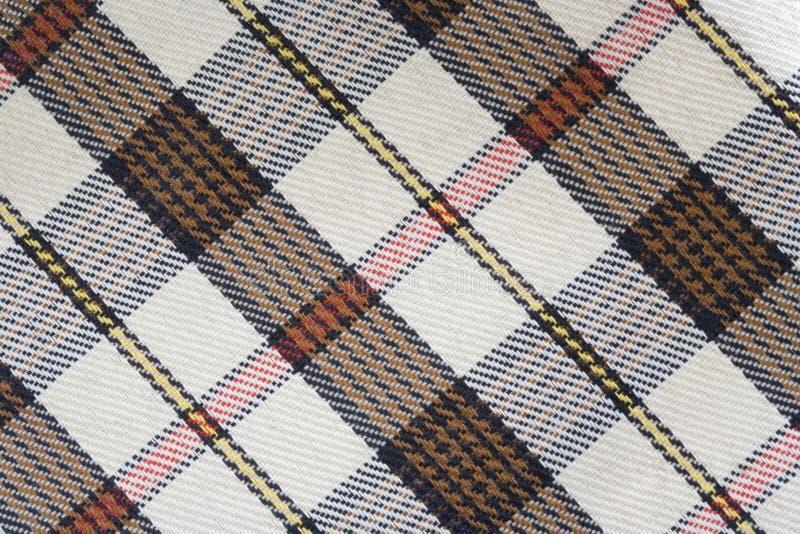 Tissu écossais images stock
