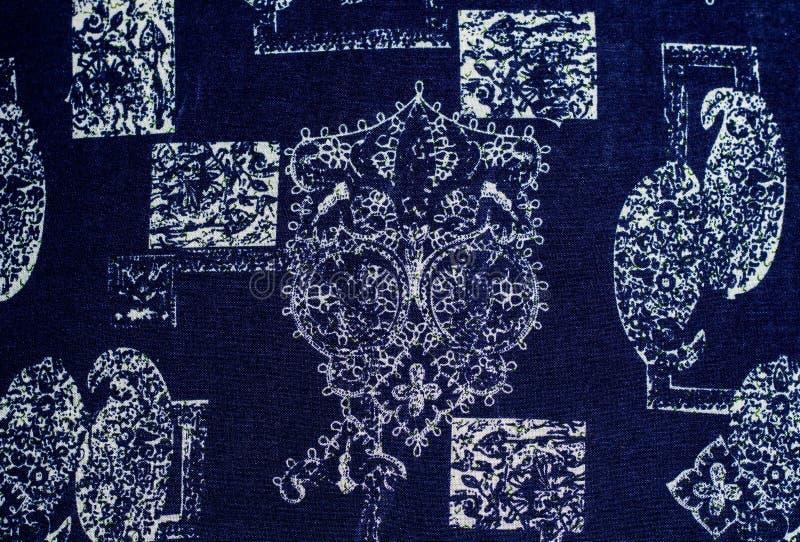Tissu abstrait d'impression photo libre de droits
