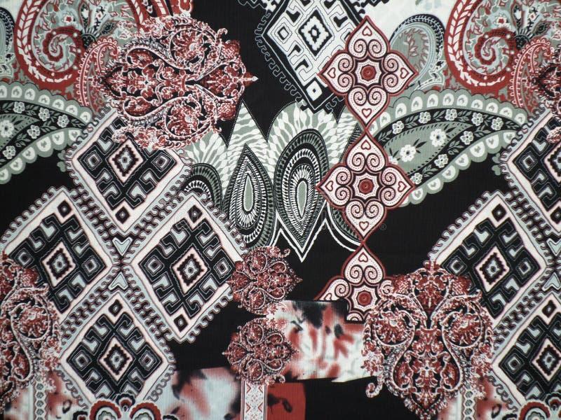 Tissu abstrait de motif images libres de droits