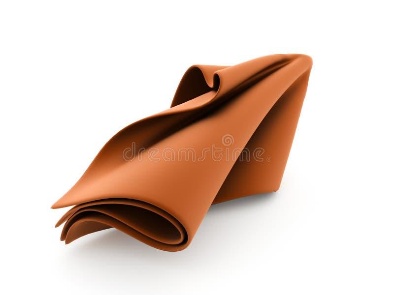 Tissu abstrait rendu illustration stock