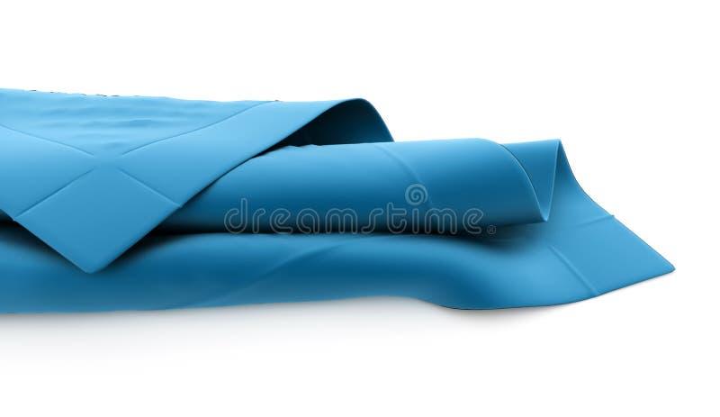Tissu abstrait rendu illustration de vecteur