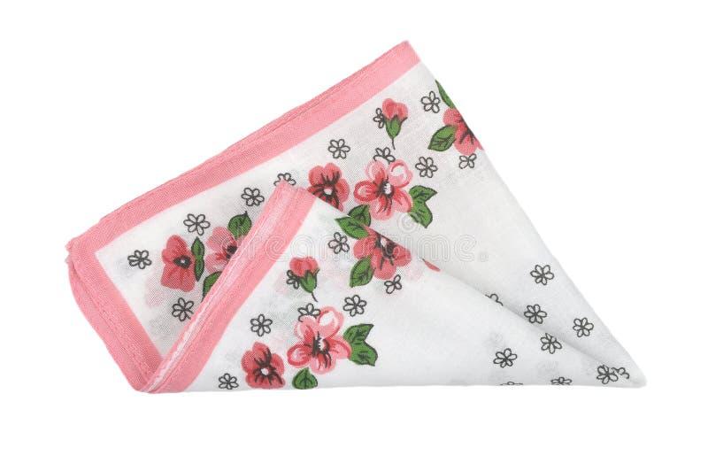 Tissu avec des fleurs photo stock
