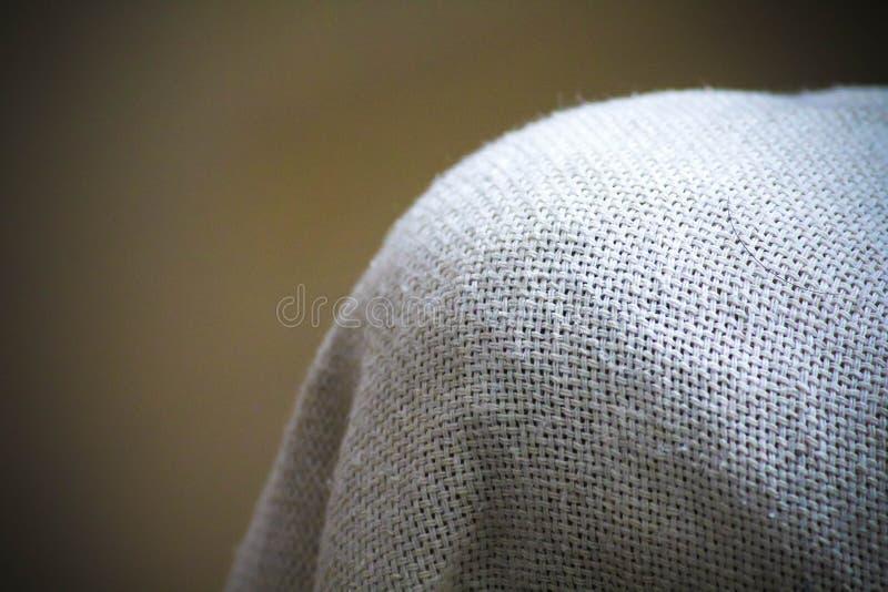 Tissu blanc Mesh Macro Shot illustration libre de droits