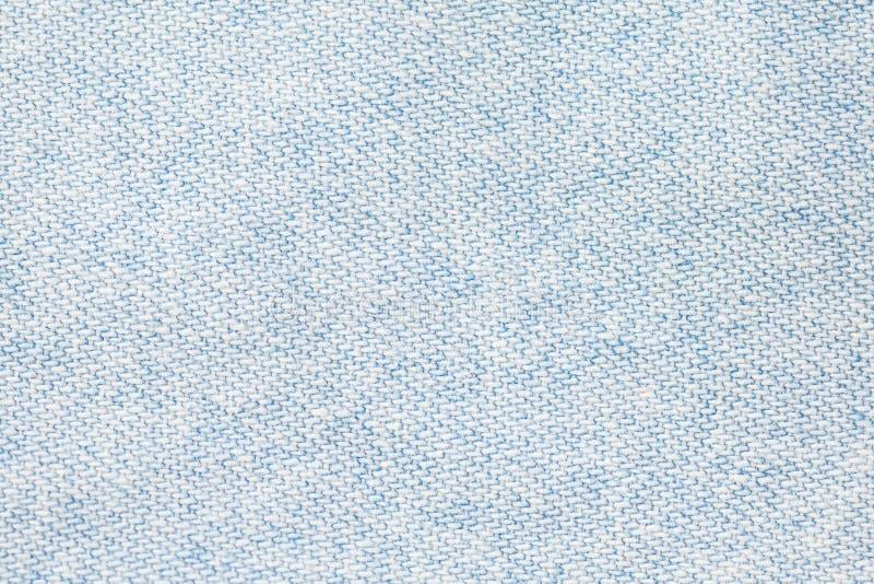 tissu bleu-clair de denim photo stock