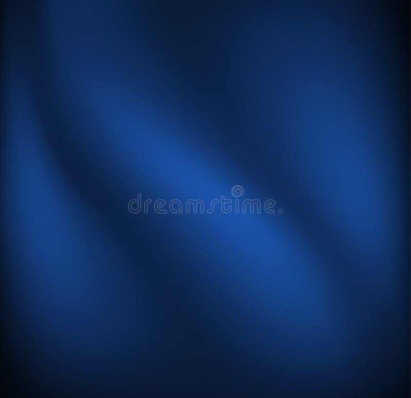 Tissu bleu de ondulation illustration libre de droits