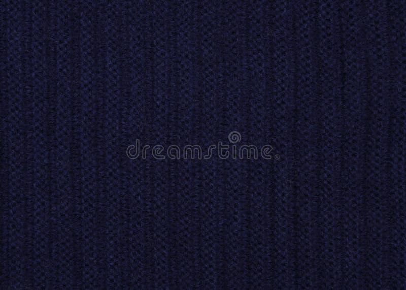 tissu bleu tricoté images libres de droits