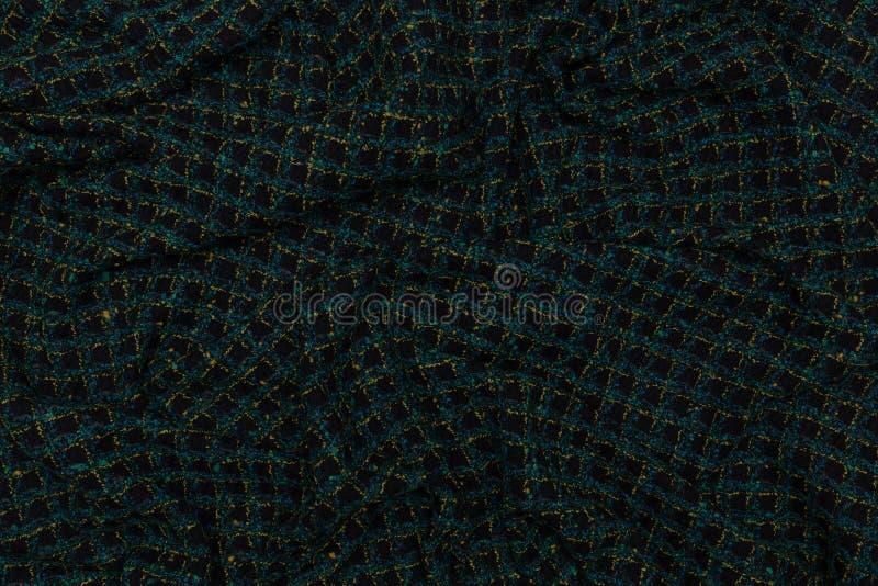 Tissu ? carreaux cr?atif avec le fond de texture de textile images stock