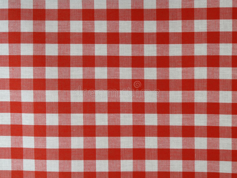 Tissu checkered rouge image stock