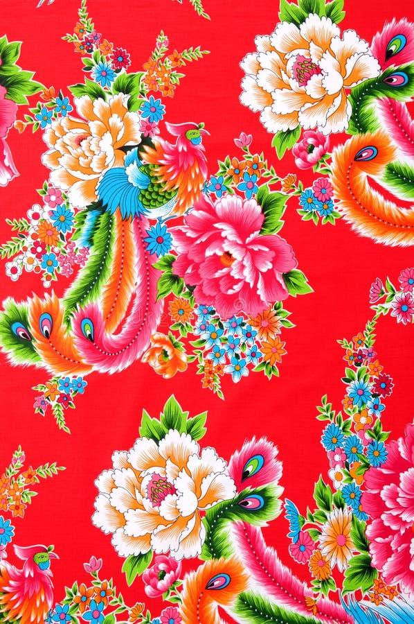 Tissu chinois photo stock
