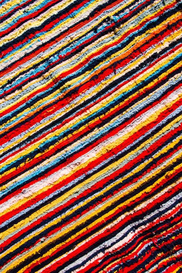 Tissu coloré de tribu photos libres de droits