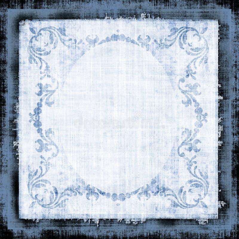 Tissu décoratif Grun de cru illustration stock