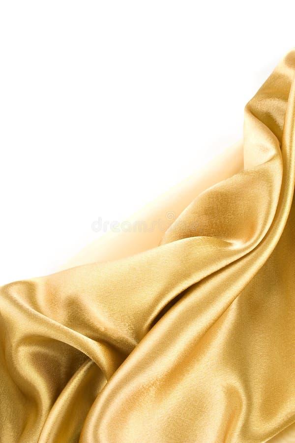 Tissu d'or photos libres de droits