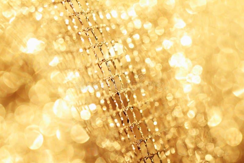 Tissu d'or photographie stock libre de droits