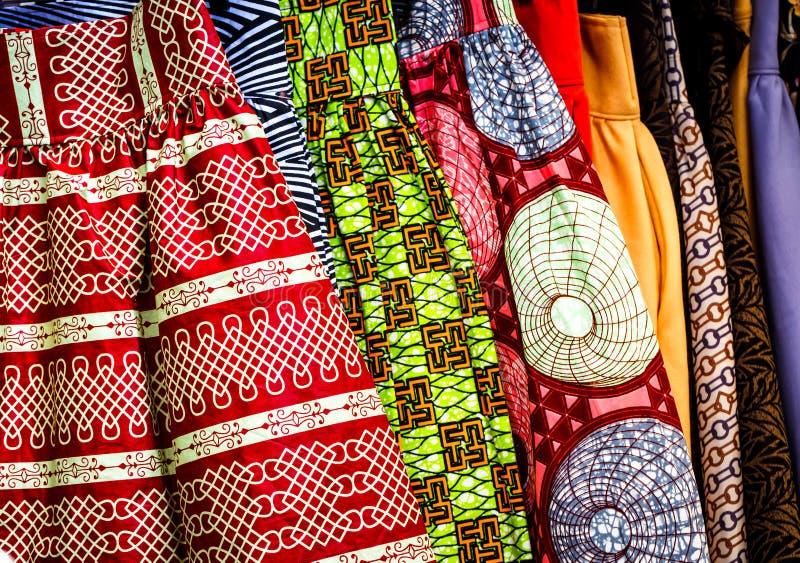 Tissu d'Afrique occidentale images stock