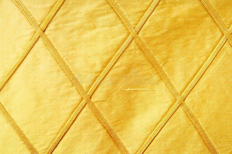 Tissu d'or comme fond illustration stock
