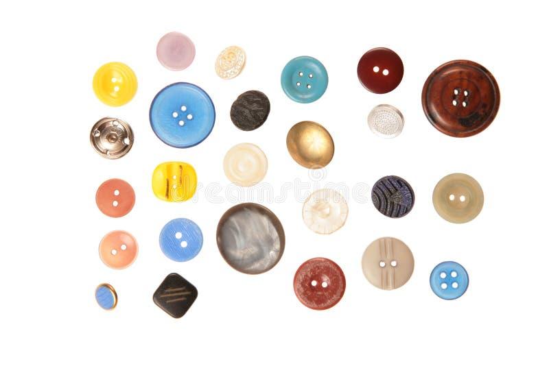 Tissu de bouton images libres de droits