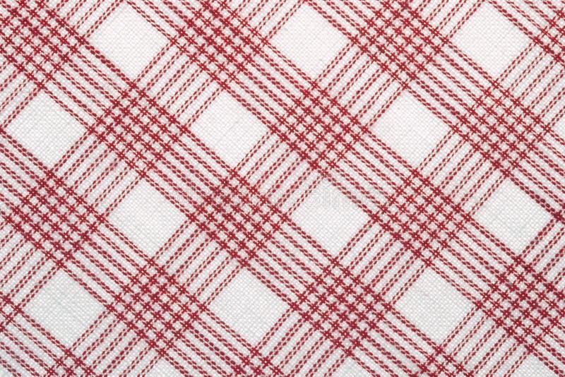 Tissu de coton contrôlé diagonal image libre de droits