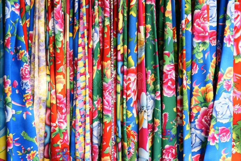 Tissu de fleur photographie stock libre de droits