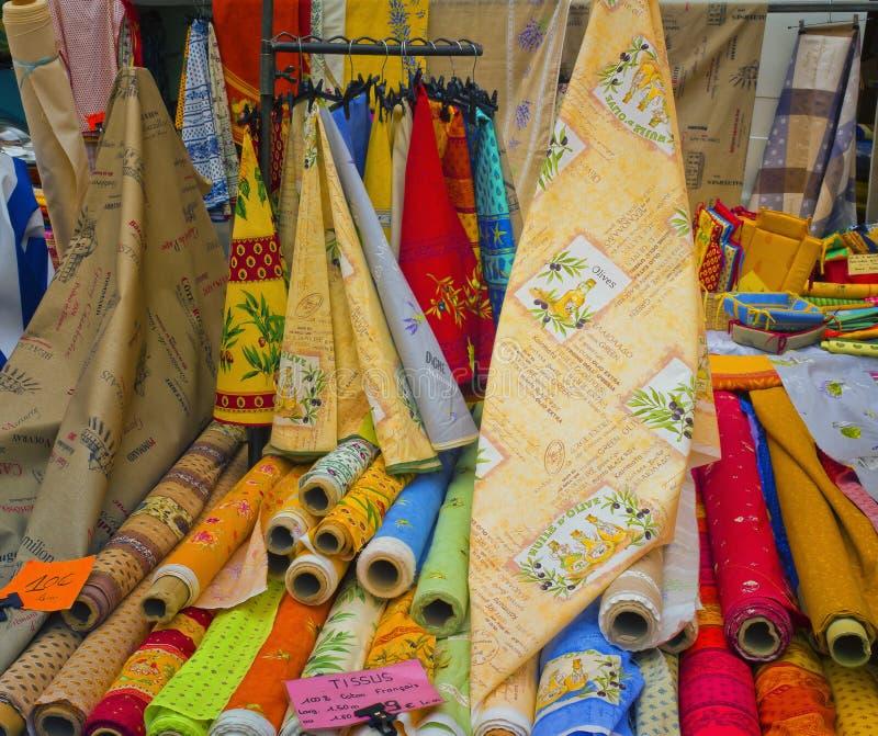 Tissu de la Provence, France photographie stock libre de droits