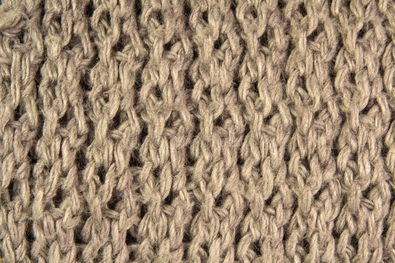 Tissu de laine de gris d'une écharpe images libres de droits