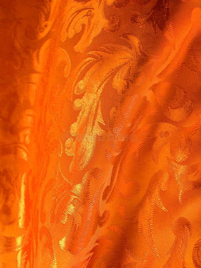 Tissu de luxe d'or photos libres de droits