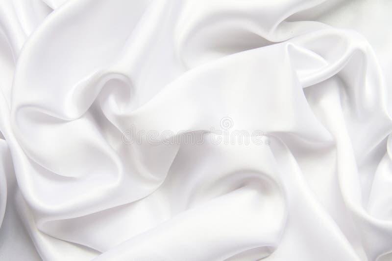Tissu de luxe de fond abstrait ou plis de vague ou onduleux liquides de image libre de droits
