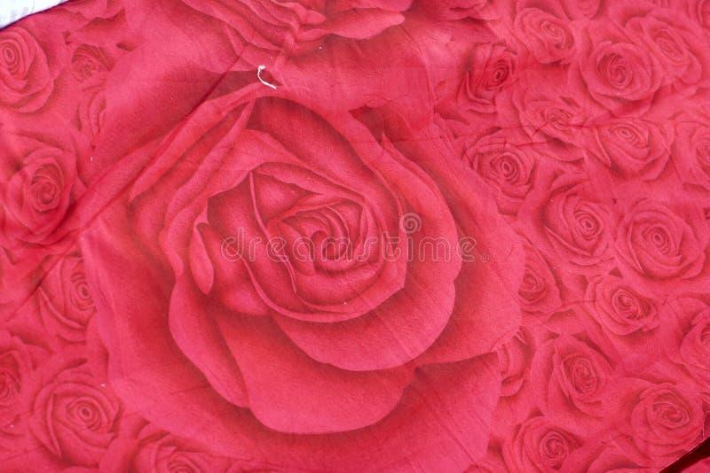 Tissu de Rose image stock