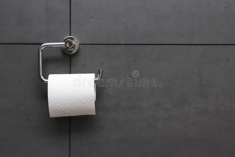 Tissu de salle de bains photographie stock