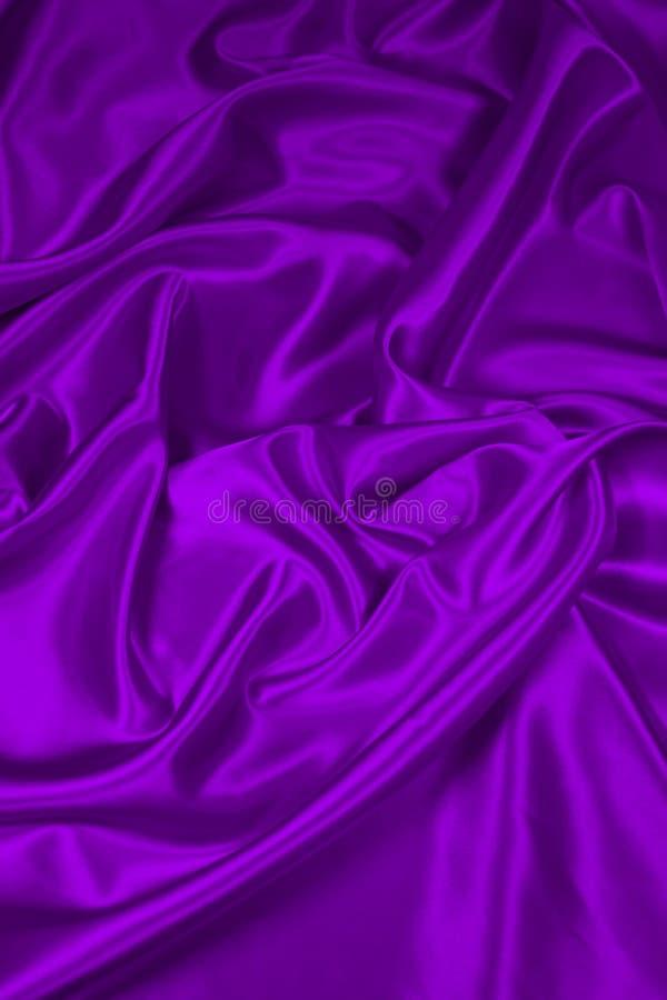 Tissu de satin/en soie pourpré 2 photo libre de droits