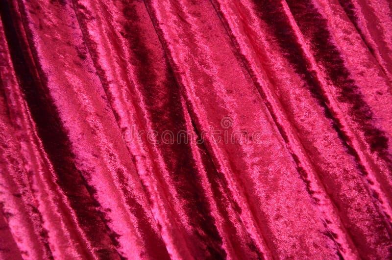 Tissu de velours images libres de droits