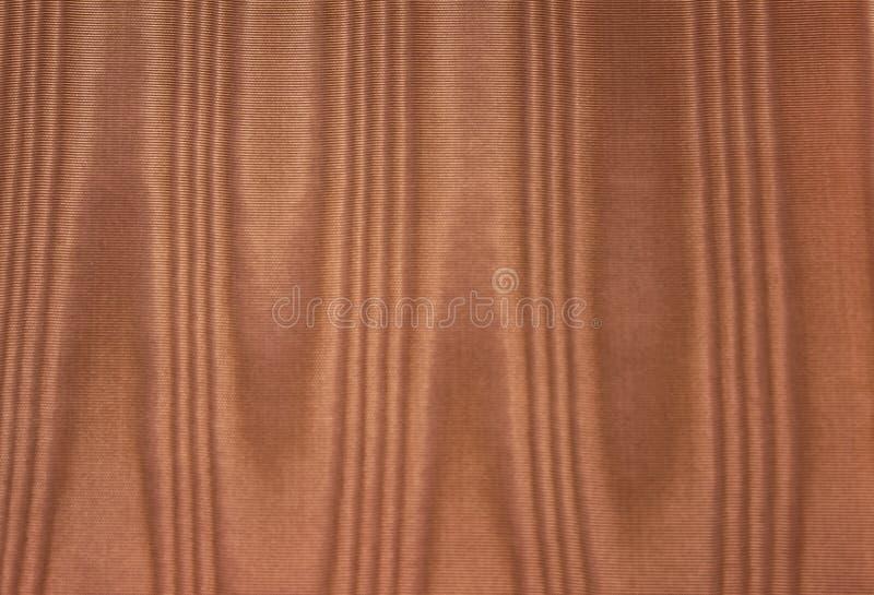 Tissu en soie de moirage d'or photos libres de droits