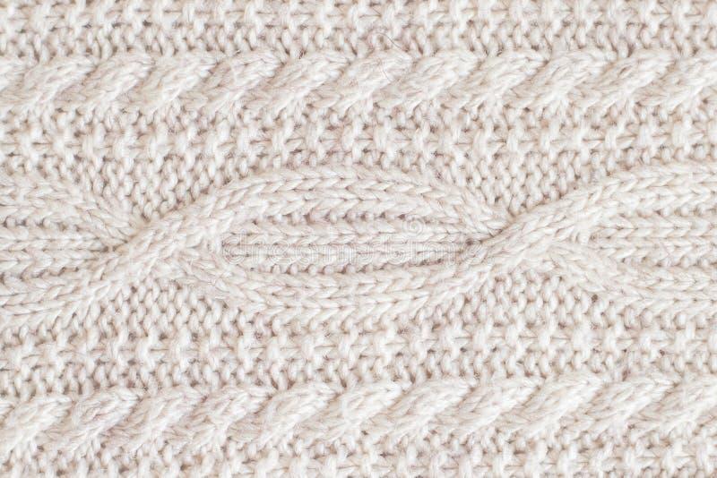 Tissu fait de laine image stock